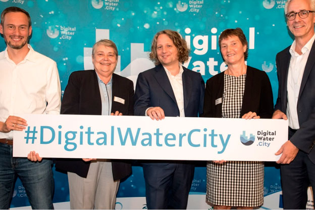 Press Conference: Launch of EU-funded project digital-water.city