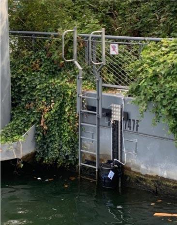 Fludion ALERT system in river