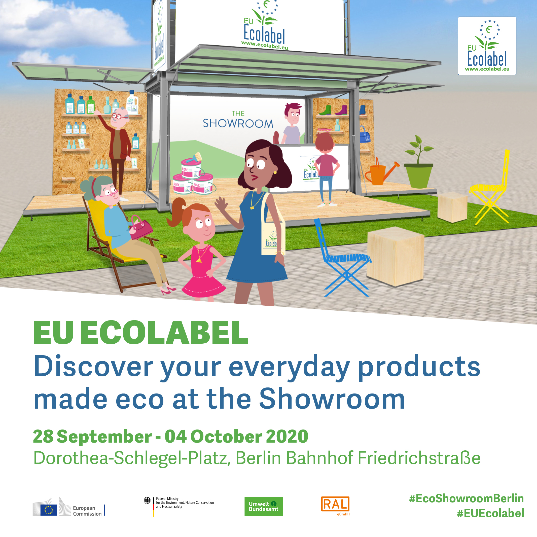 Join DWC at the Ecolabel Showroom in Berlin